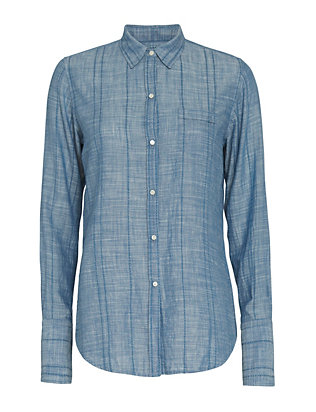 Nili Lotan EXCLUSIVE Chambray Shirt