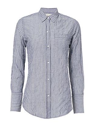 Mini Patch Pocket Stripe Shirt