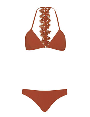 Zimmermann Alchemy Flutter Bonded Bikini- Final Sale