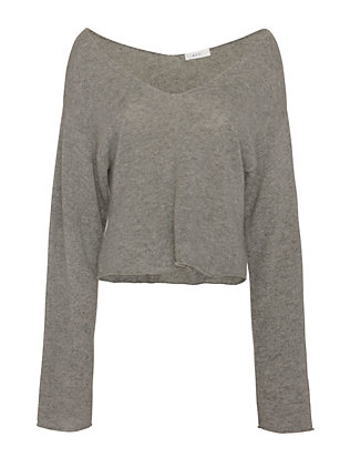 A.L.C. Martin Off The Shoulder Sweater: Grey