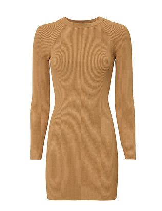 Nick Ribbed Dress