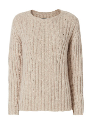 Nili Lotan Cable Knit Sweater