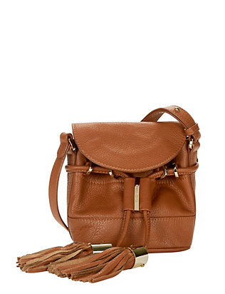 See By Chloe Flap Tassel Crossbody: Brown