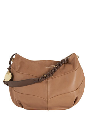 See By Chloé Braided Strap Leather Shoulder Bag