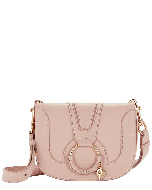 See By Chloé Circle Detail Leather Shoulder Bag