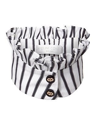 Poplin Stripe Collar