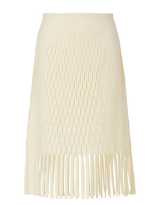 Dion Lee Perforated Fringe Skirt