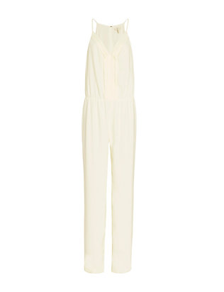 Joie Pleated Neckline Jumper: Ivory