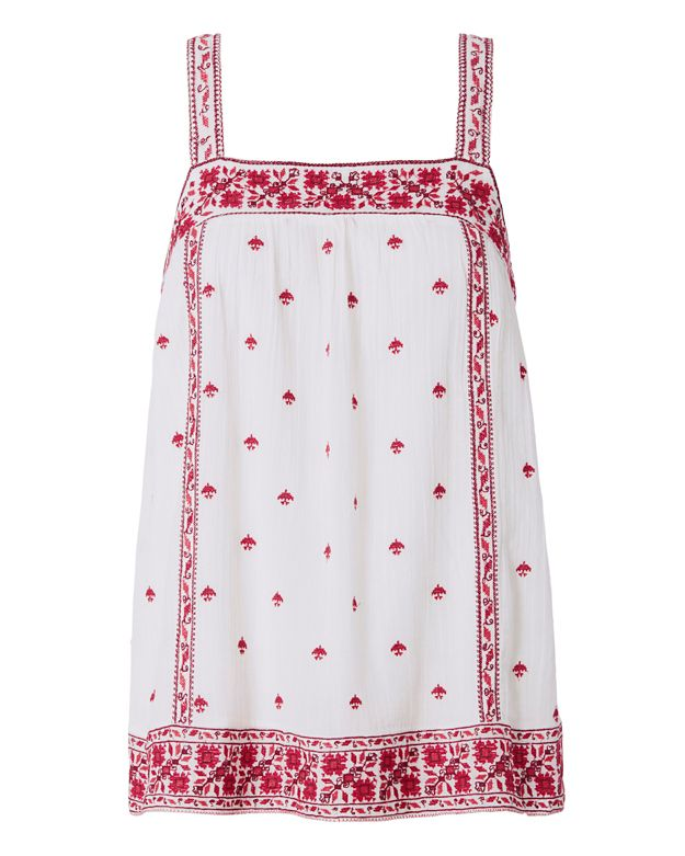 Joie Magali Embroidery Top