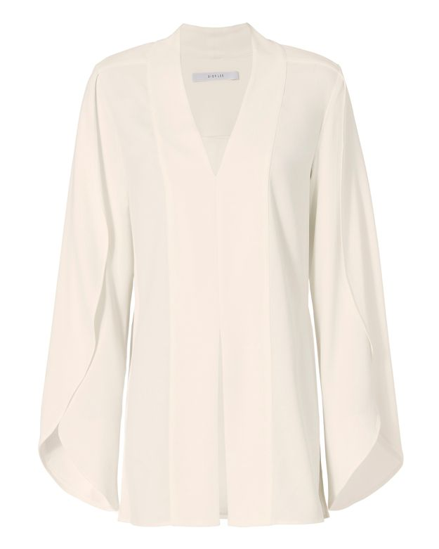 Dion Lee Split Sleeve V Blouse
