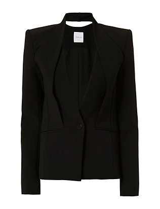 Dion Lee Inverted Collar Blazer