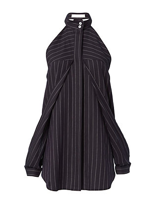 Dion Lee Stripe Sleeve Release Shirt