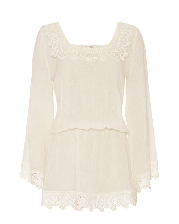 Alexis EXCLUSIVE Ritts Lace Gauze Mini Dress