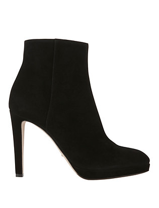 Sergio Rossi EXCLUSIVE Madison Suede Bootie