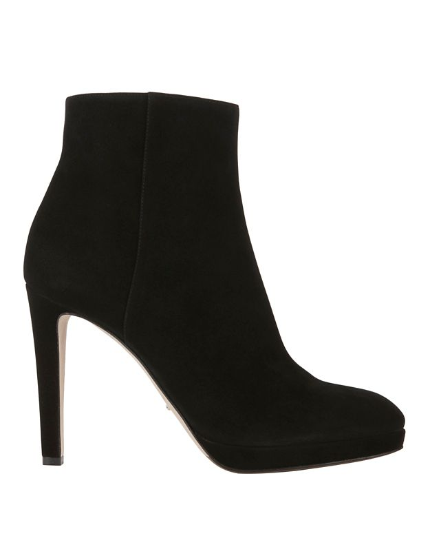 Sergio Rossi Madison Suede Booties