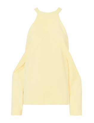 Dion Lee Cold Shoulder Evening Sweater