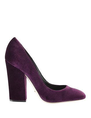 Virginia Velvet Pumps