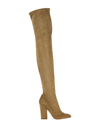 Sergio Rossi Virginia Suede Thigh Boot