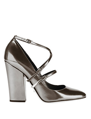 Betty Cross Strap Pumps
