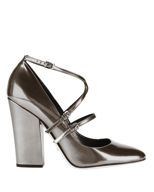 Sergio Rossi Betty Cross Strap Pump