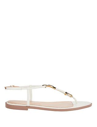 Scarpe Donna Flat Thong Sandals