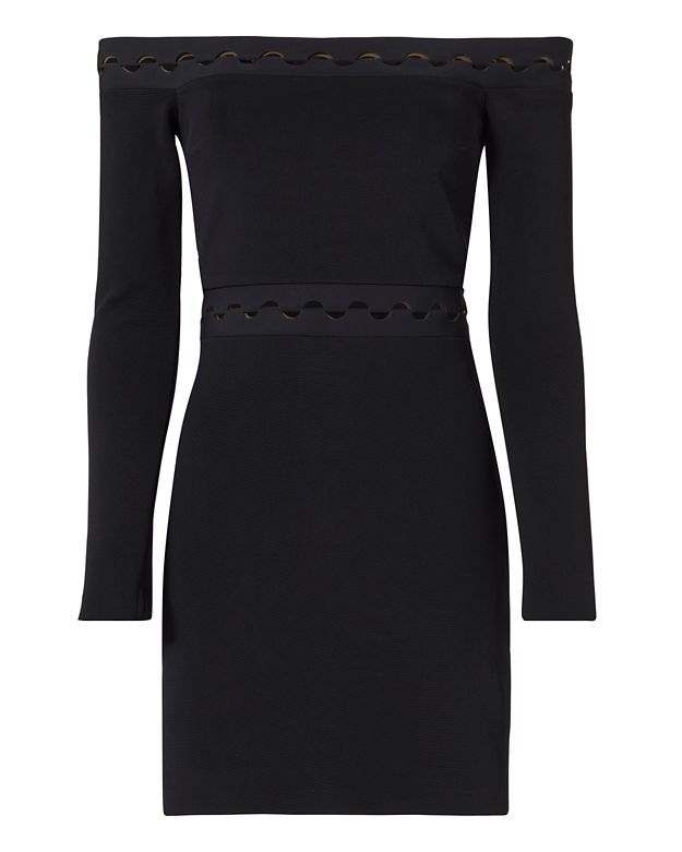 Dion Lee Cut Out Off The Shoulder Dress