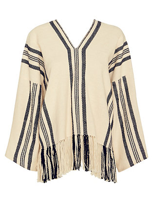 APiece Apart Woven Striped V Neck