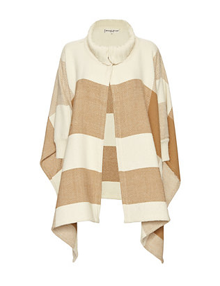 Apiece Apart EXCLUSIVE Plaid Poncho