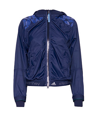adidas by Stella McCartney Logo Print Running Jacket