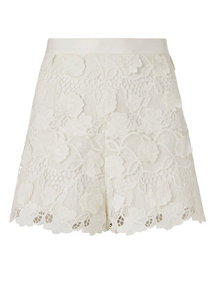 Alexis Adrien High Waist Lace Short