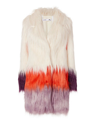 Blondie Faux Fur Coat