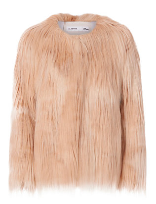 Alabama Muse Suxie Faux Fur Jacket