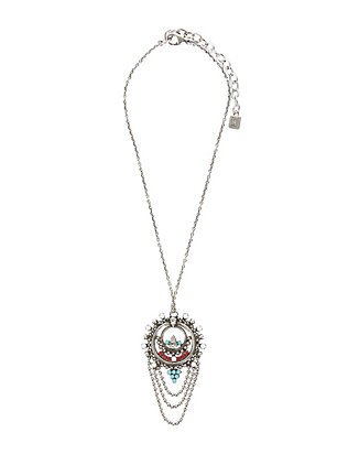 Dannijo Alexius Dreamcatcher Pendant Necklace
