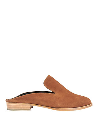 Alice Suede Slide Loafers