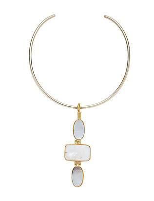 Anndra Neen Rei Mother of Pearl Drop Choker