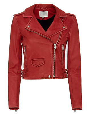 IRO Ashville Biker Leather Jacket