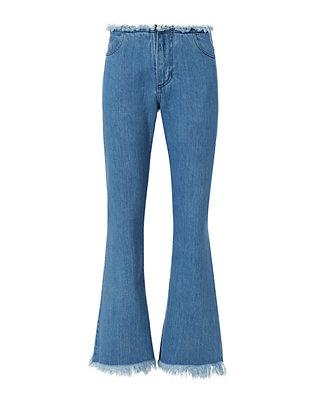 Stonewash Flare Jeans