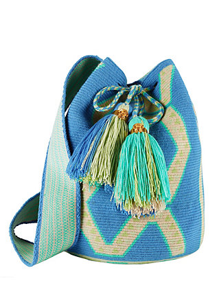 The Way U Woven Mochila: Blue