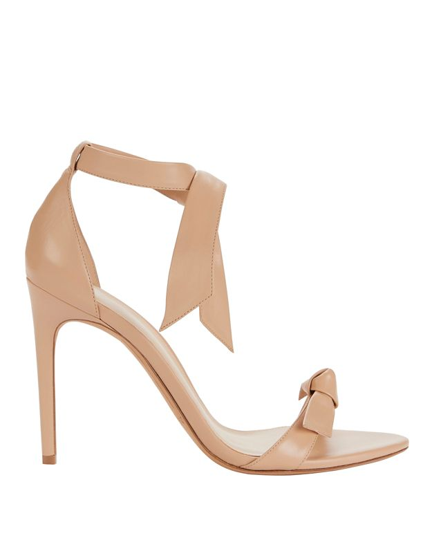 Alexandre Birman Clarita Double Tie Strap Leather Sandals