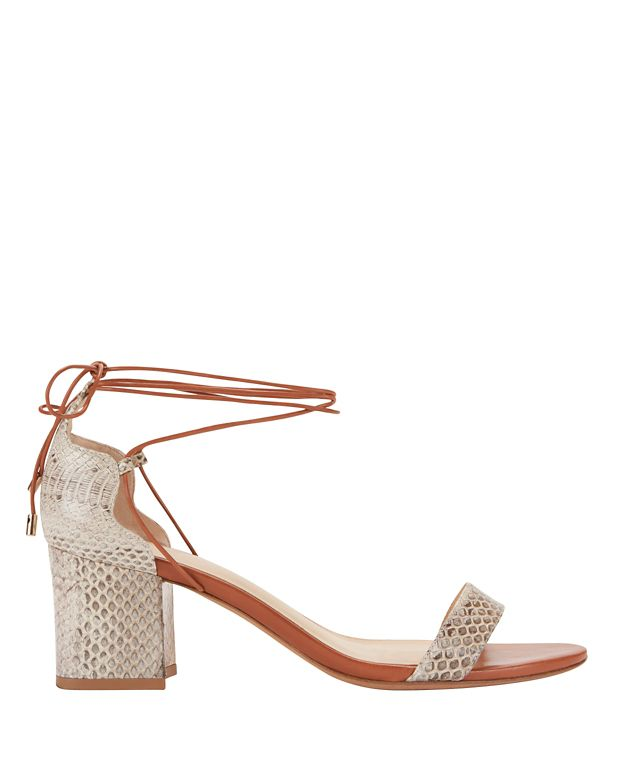 Alexandre Birman Lovely Tie Up Colorblock Sandal