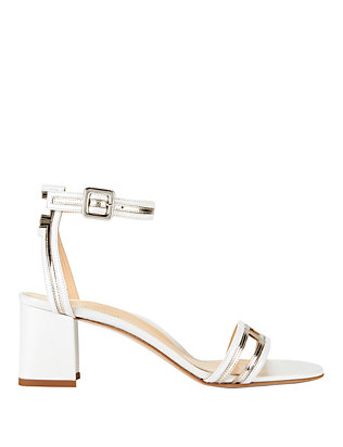 Marion Parke Beck White Sandals