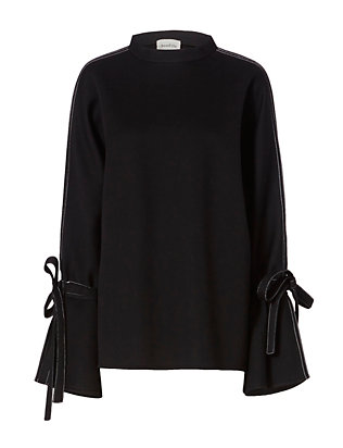 Beaufille Neoprene Sweatshirt: Black