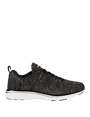 APL TechLoom Performance Sneakers: Black