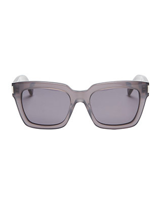 Bold Grey Square Sunglasses
