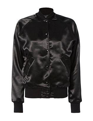 Bowie Black Bomber Jacket