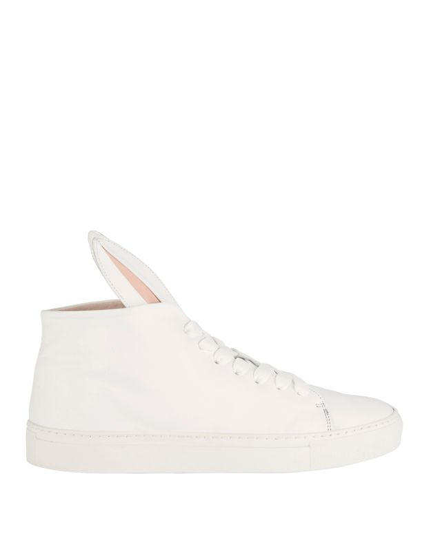 Minna Parikka Bunny Hi-Top Leather Sneakers