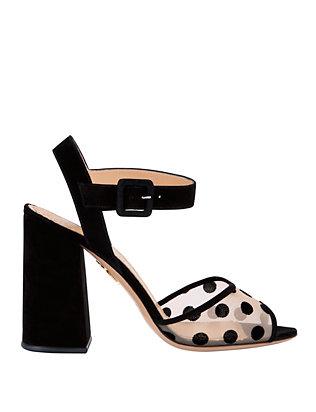 Emma Polka Dot Sandals