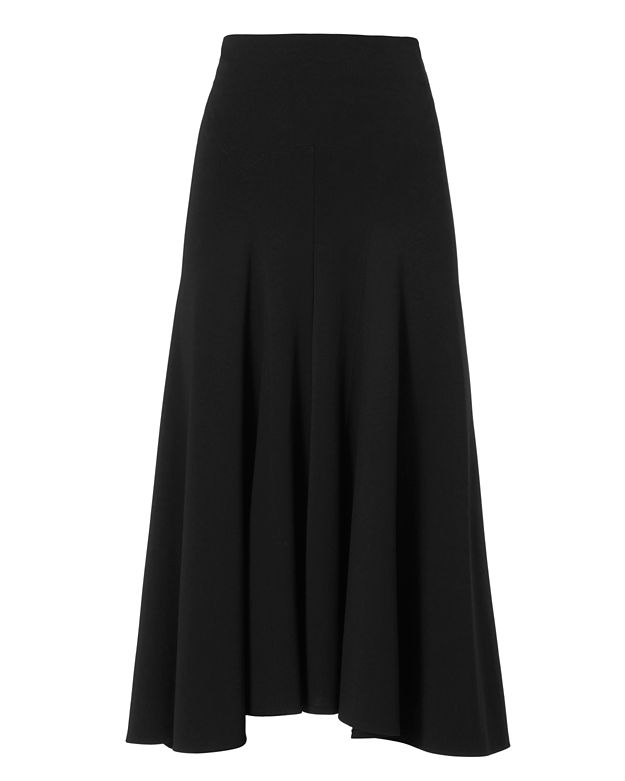 Derek Lam Flare Skirt: Black