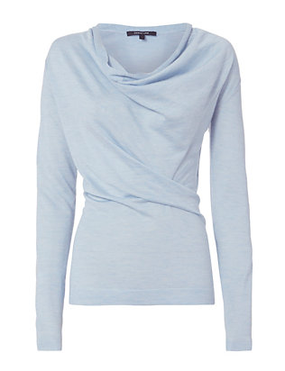 Derek Lam Core Cowl Neck Sweater