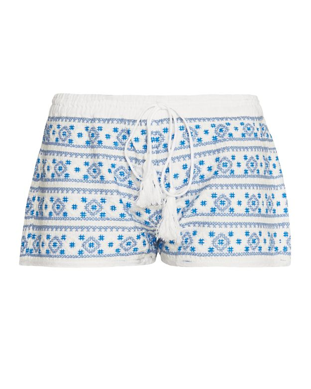 Melissa Odabash Carolina Embroidery Short